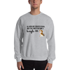 All Men Created Equal Beagle Sweatshirt Sport Grey S