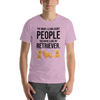 The More I Like My Retriever Men's T-Shirt Heather Prism Lilac XS