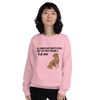 All Women Created Equal Lab Sweatshirt Light Pink S