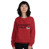All Women Created Equal Husky Sweatshirt Red S