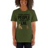 The More I Like My Lab Women's T-Shirt Olive S