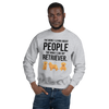 The More I Like My Retriever Men's Sweatshirt Sport Grey S