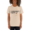 All Women Created Equal Pug T-Shirt Heather Dust S