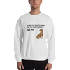 All Men Created Equal Lab Sweatshirt White S