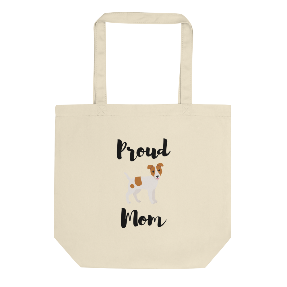 Proud Jack Russel Terrier Mom Tote Bag