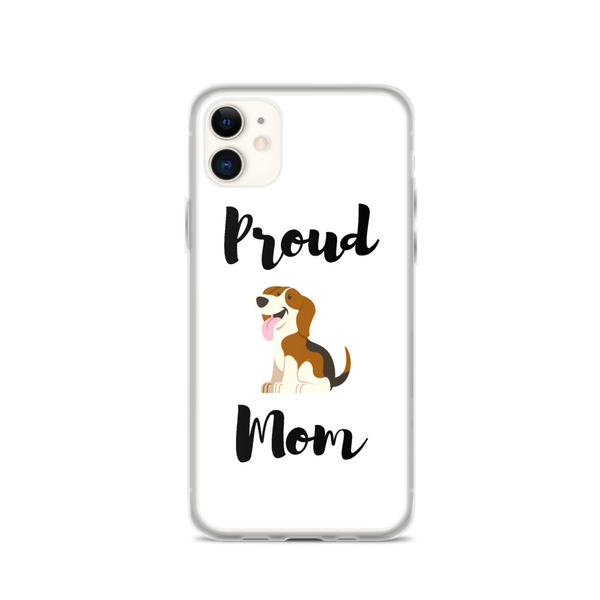 Proud Beagle Mom iPhone Case