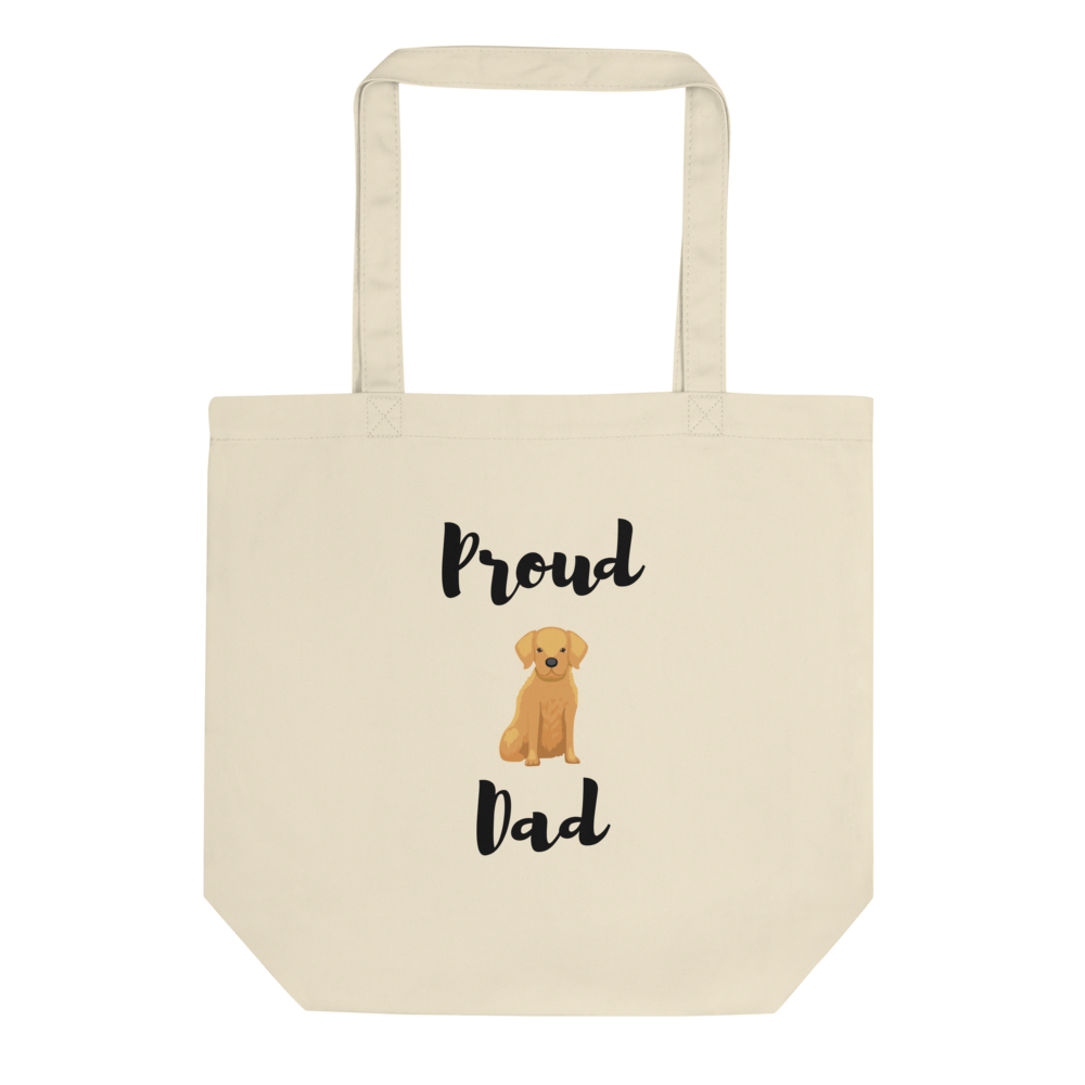 Proud Retriever Dad Tote Bag