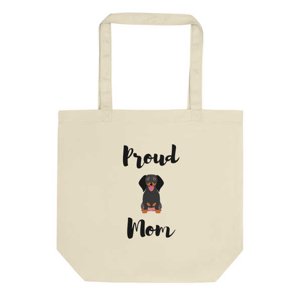 Proud Dachshund Mom Tote Bag