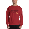 All Men Created Equal Poodle Sweatshirt Red S