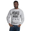 The More I Like My Husky Men's Sweatshirt Sport Grey S