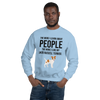 The More I Like My Jack Russel Terrier Men's Sweatshirt Light Blue S