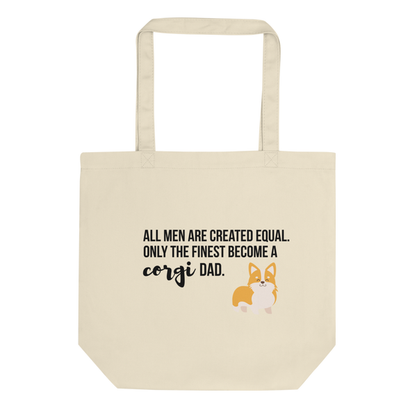 All Men Created Equal Corgi Tote Bag