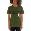 All Women Created Equal Pitbull T-Shirt Olive S