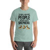 The More I Like My Shepherd Men's T-Shirt Heather Prism Dusty Blue XS