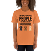 The More I Like My Dachshund Women's T-Shirt Burnt Orange XS