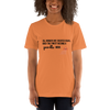 All Women Created Equal Poodle T-Shirt Burnt Orange XS