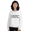 All Women Created Equal Husky Sweatshirt White S