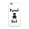 Proud Rottweiler Dad iPhone Case