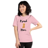 Proud Retriever Mom T-Shirt Pink S