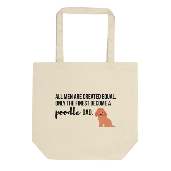All Men Created Equal Poodle Tote Bag