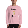 Proud Corgi Dad Sweatshirt Light Pink S