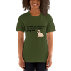 All Women Created Equal Pug T-Shirt Olive S