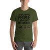 The More I Like My Rottweiler Men's T-Shirt Olive S