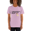 All Women Created Equal Pug T-Shirt Heather Prism Lilac XS