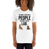 The More I Like My Lab Women's T-Shirt White XS