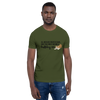 All Men Created Equal Bulldog T-Shirt Olive S