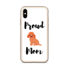 Proud Poodle Mom iPhone Case