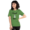 Proud Husky Mom T-Shirt Leaf S