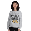 The More I Like My Shepherd Women's Sweatshirt Sport Grey S