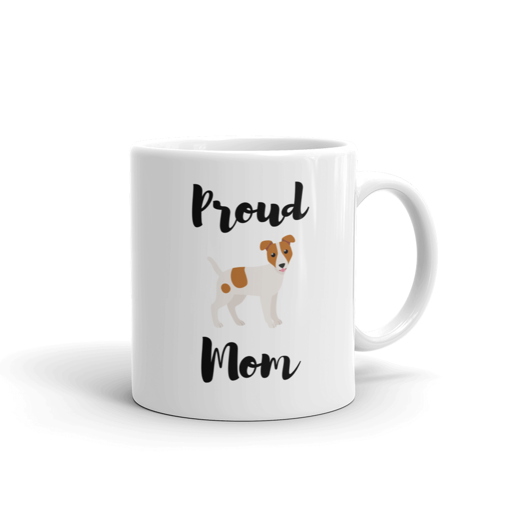 Proud Jack Russel Terrier Mom Mug