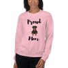 Proud Rottweiler Mom Sweatshirt Light Pink S