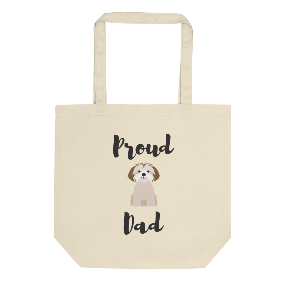 Proud Shih Tzu Dad Tote Bag