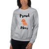 Proud Poodle Mom Sweatshirt Sport Grey S