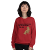 All Women Created Equal Lab Sweatshirt Red S