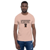 All Men Created Equal Dachshund T-Shirt Heather Prism Peach XS