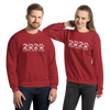 Pink Happy New Year 2020 Unisex Sweatshirt