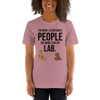 The More I Like My Lab Women's T-Shirt Heather Orchid S