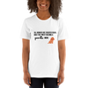 All Women Created Equal Poodle T-Shirt White XS