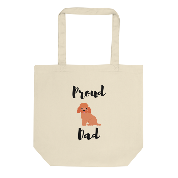 Proud Poodle Dad Tote Bag