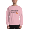 All Men Created Equal Poodle Sweatshirt Light Pink S
