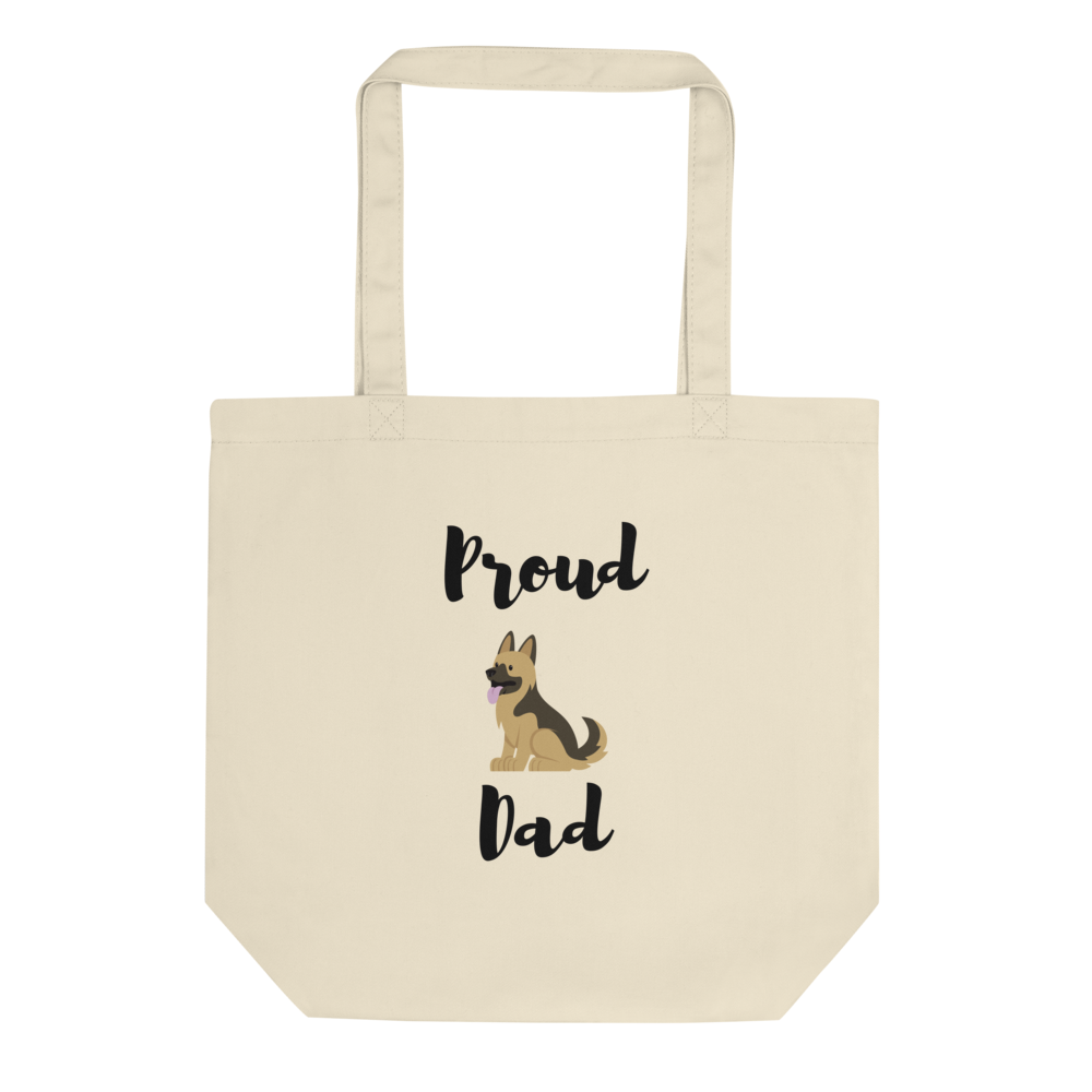 Proud Shepherd Dad Tote Bag