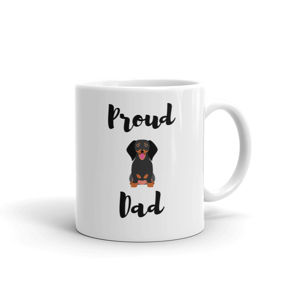 Proud Dachshund Dad Mug