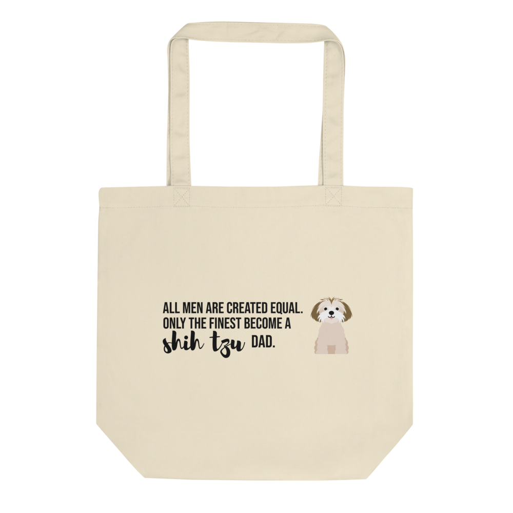 All Men Created Equal Shih Tzu Tote Bag