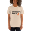 All Women Created Equal Poodle T-Shirt Heather Dust S