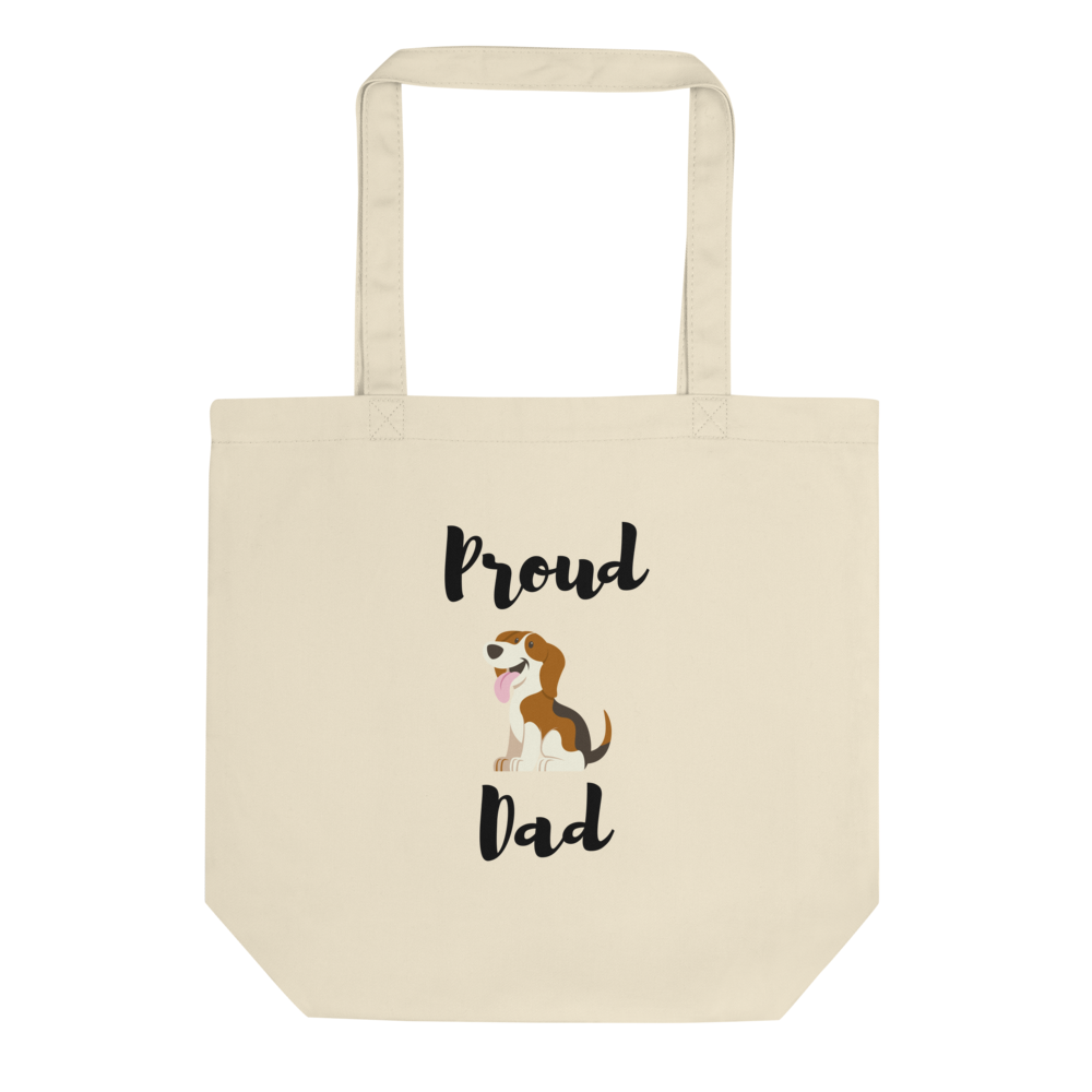 Proud Beagle Dad Tote Bag