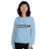 All Women Created Equal Rottweiler Sweatshirt Light Blue S